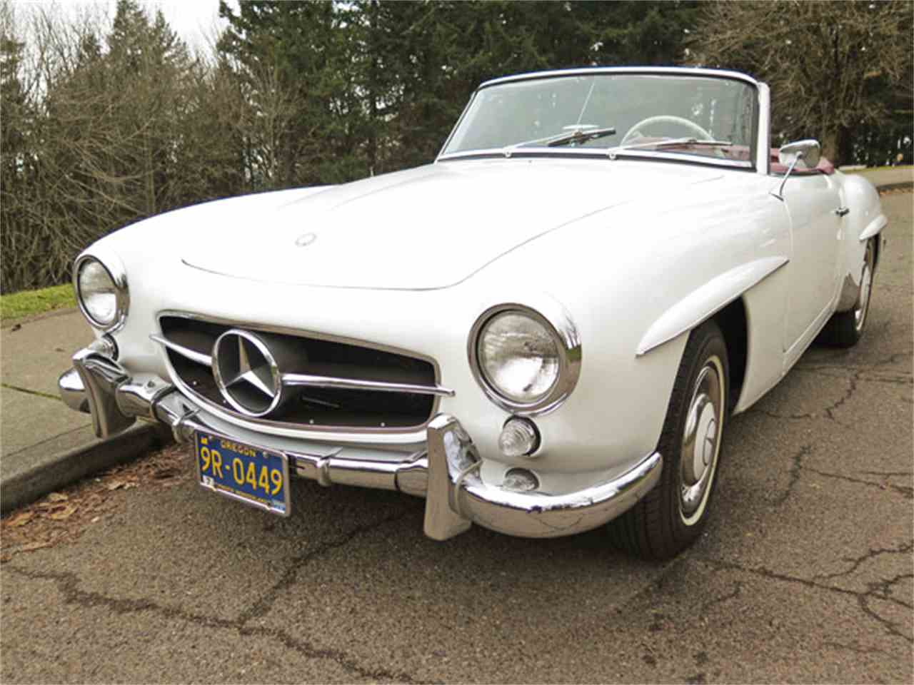 1961 mercedes benz 190sl for sale cc for Mercedes benz 190 for sale