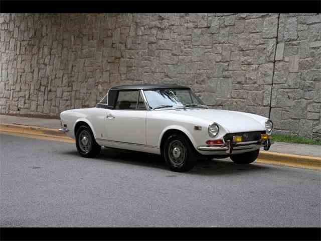 1971 Fiat Spider   957485