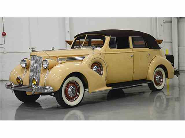 1938 Packard Eight Convertible Sedan | 957606