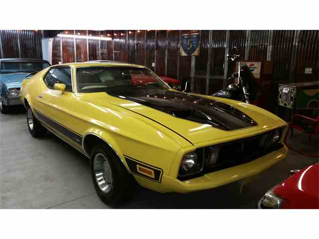 1973 Ford Mustang Mach 1   957760