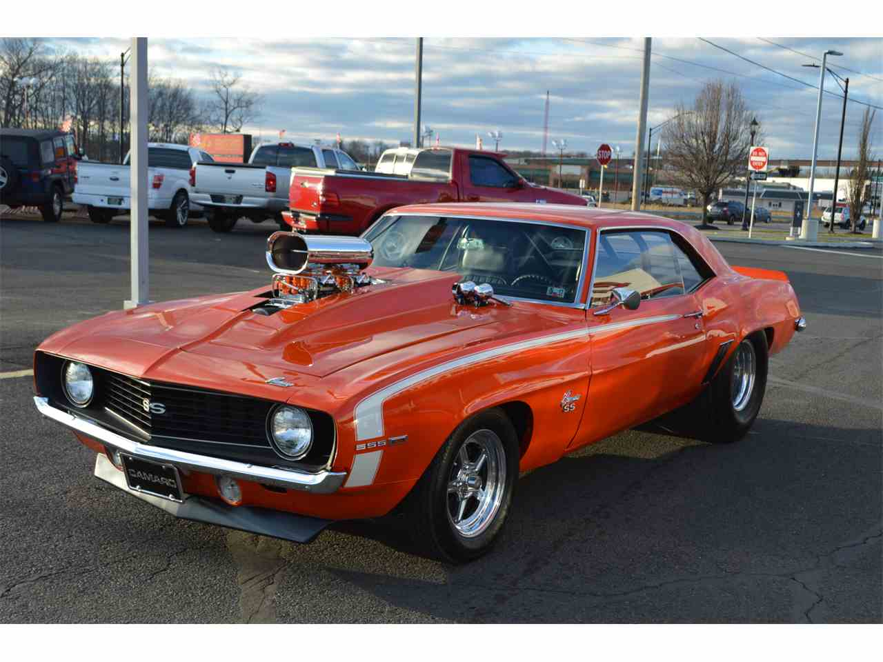 1969 chevy camaro ss pro street for sale cc 957772. Black Bedroom Furniture Sets. Home Design Ideas