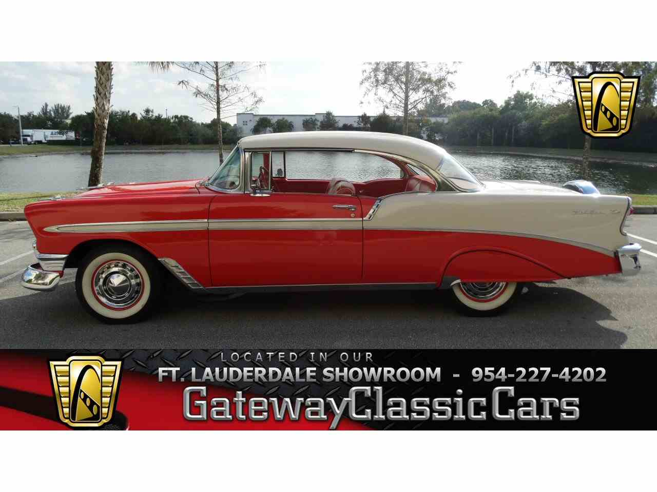 1956 chevrolet bel air for sale classic car liquidators - 1956 Chevrolet Bel Air For Sale Cc 957799