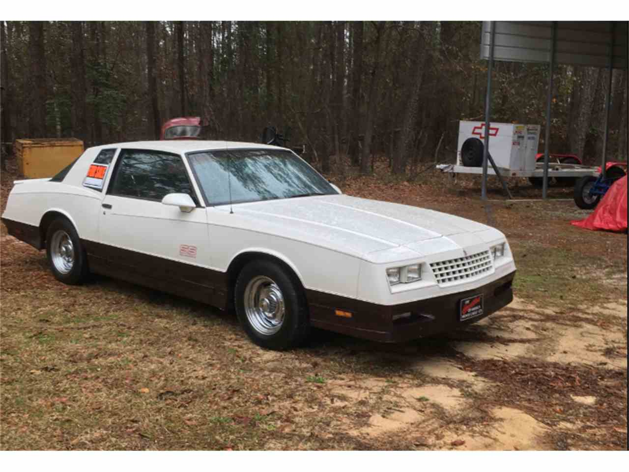 All Chevy 1988 chevrolet monte carlo ss for sale : 1986 to 1988 Chevrolet Monte Carlo SS for Sale