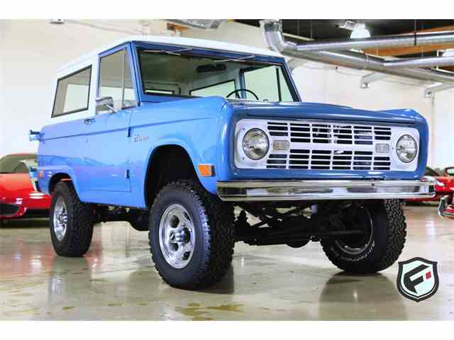1968 Ford Bronco For Sale On Classiccars Com