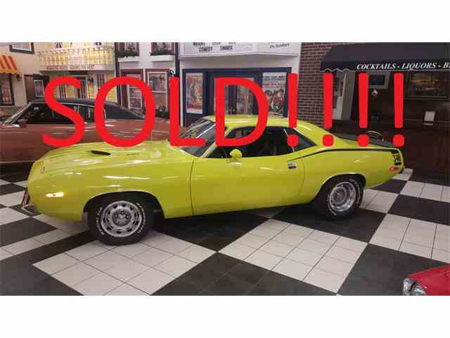 1973 PLYMOUTH CUDA 340 6 PACK | 958355