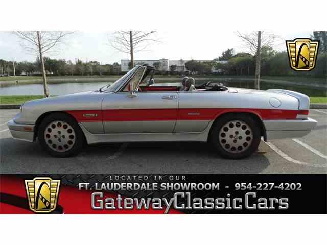1986 Alfa Romeo Spider Quadrifolgio | 958372