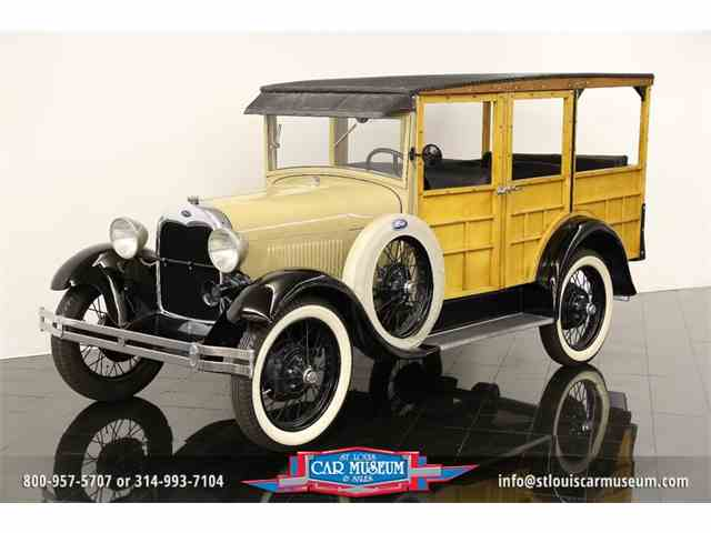1929 Ford Model A Woody Station Wagon | 958427