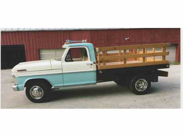 1967 Ford 1 Ton Flatbed Dump Truck | 958915