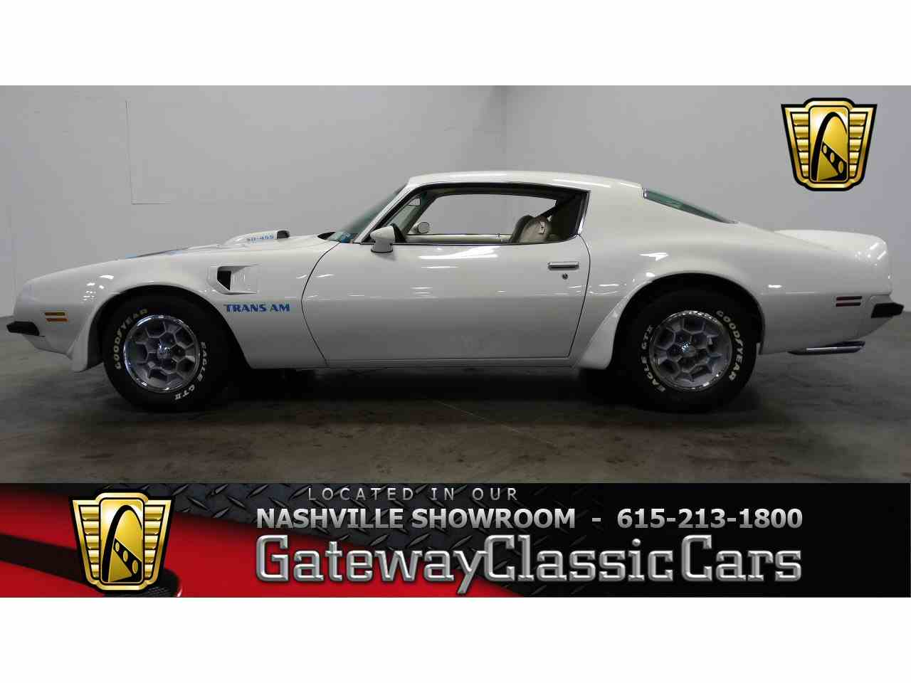 1974 Pontiac Firebird Trans Am for Sale - CC-959248