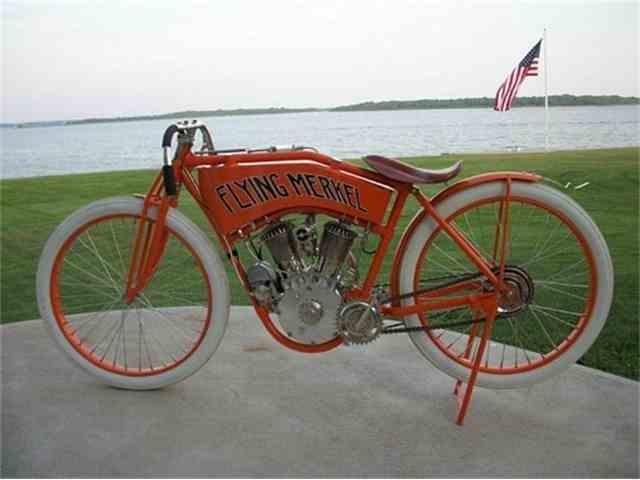1912 Flying Merkel Board Track Racer Twin  | 959369