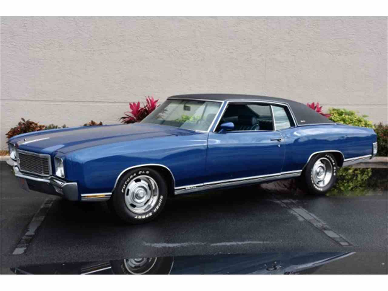 1971 chevrolet monte carlo ss for sale cc 959529. Black Bedroom Furniture Sets. Home Design Ideas