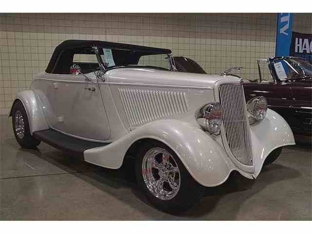 1934 Ford Cabriolet Custom Hot Rod Roadster | 959623
