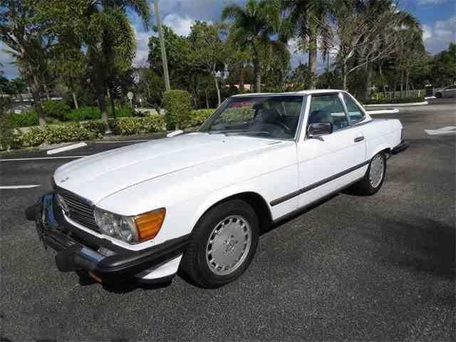 1987 Mercedes-Benz 560 | 959638