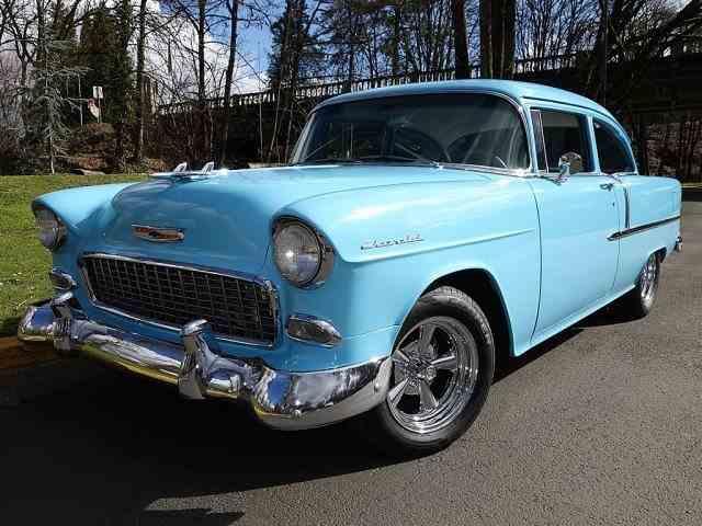1955 Chevrolet 2 Door 210 Post | 959684