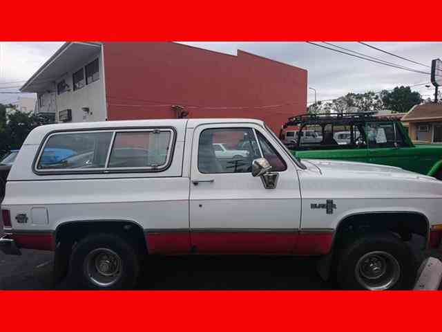 1983 Chevrolet BlazerSilverado 2dr Silverado | 959693
