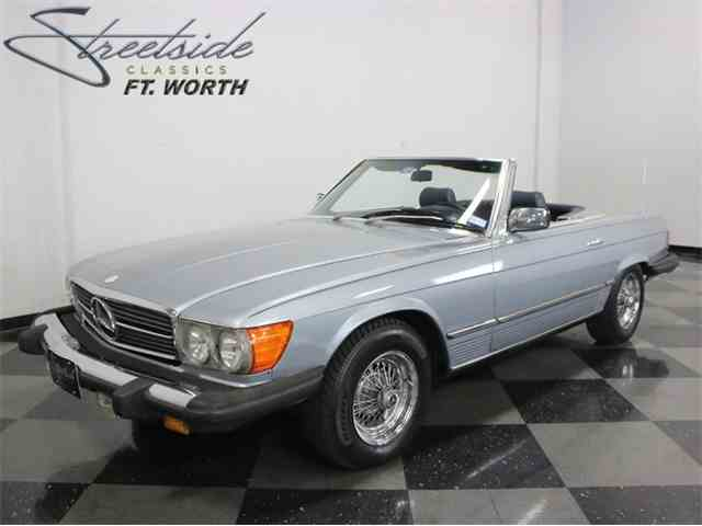 1980 Mercedes Benz 450sl For Sale On 22