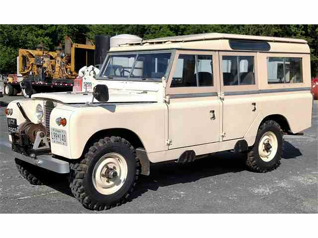 1966 Land Rover Series II A | 959860