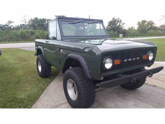1969 Ford Bronco for Sale on ClassicCarscom  8 Available