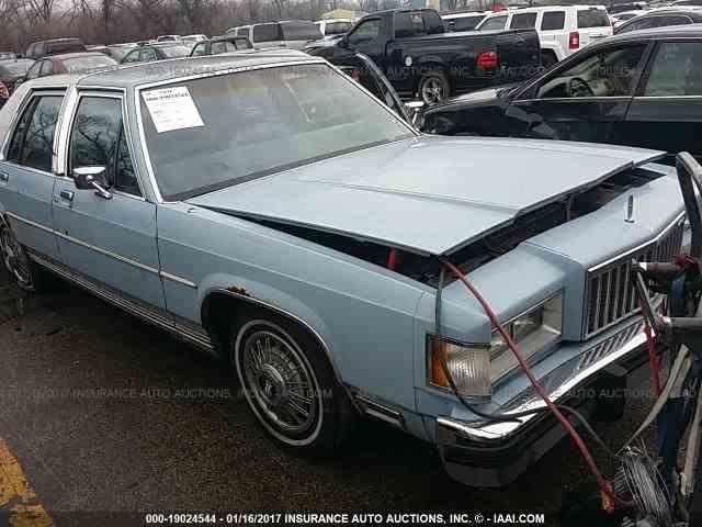 1987 Mercury Grand Marquis   961599