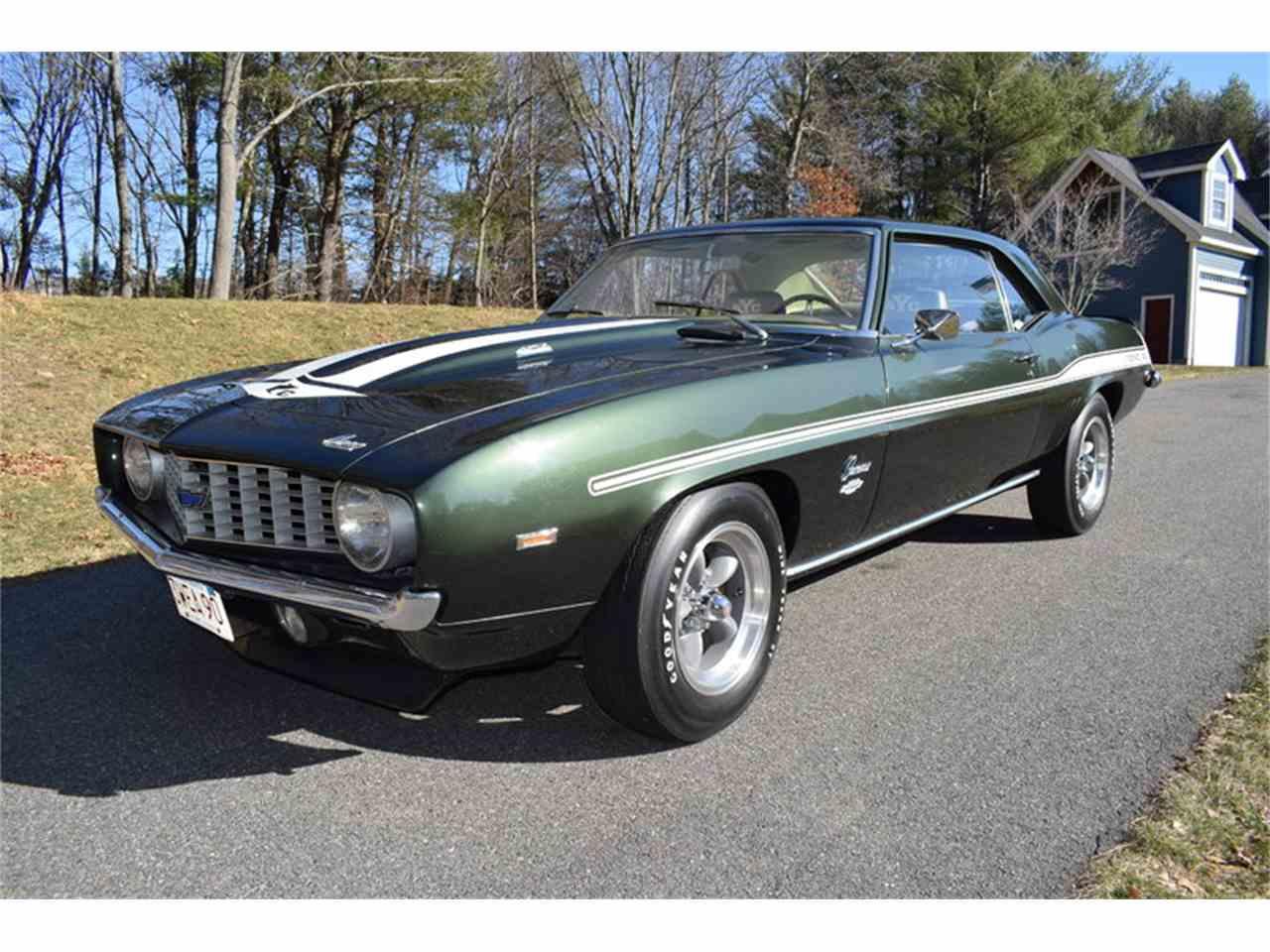 Copo Camaro For Sale >> 1969 Chevrolet Camaro COPO for Sale | ClassicCars.com | CC-961808