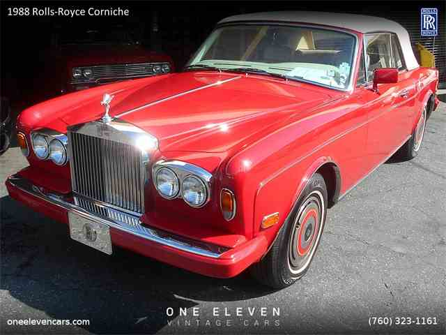 1988 Rolls-Royce Corniche | 961840
