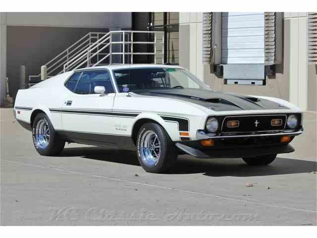 1971 Ford Mustang Mach1 Boss 351 Boss 351 | 960210