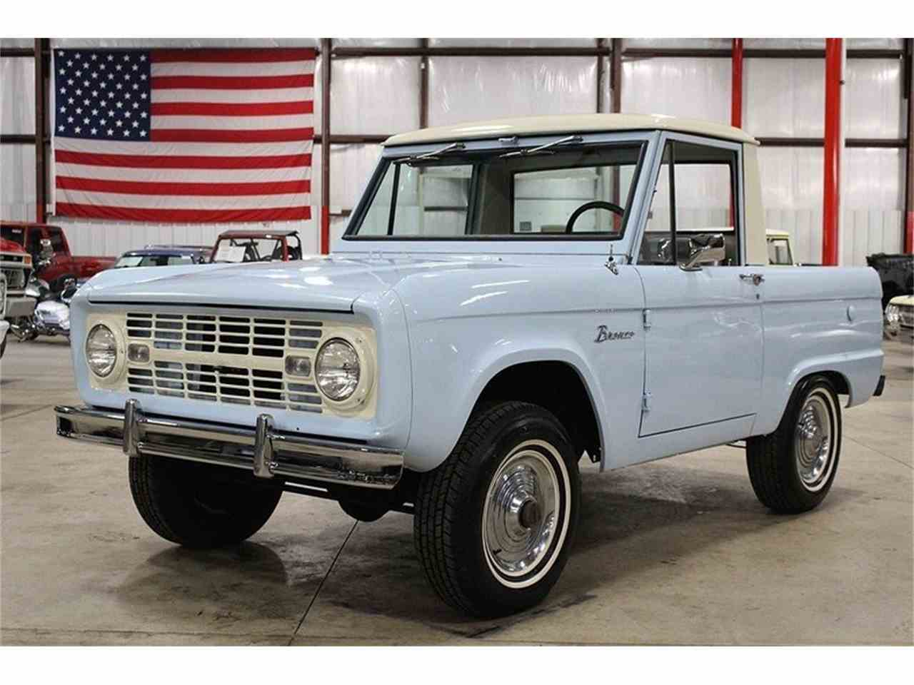 1966 ford bronco for sale cc 960217. Black Bedroom Furniture Sets. Home Design Ideas