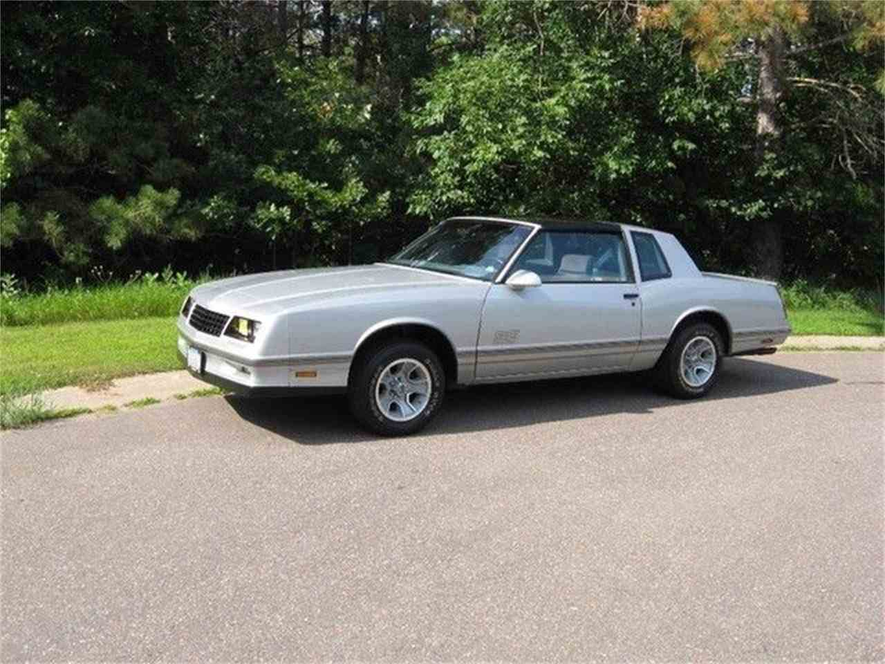 1988 chevrolet monte carlo ss for sale cc 962340. Black Bedroom Furniture Sets. Home Design Ideas