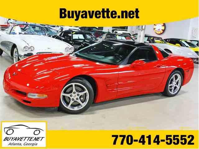 2002 Chevrolet Corvette | 962588
