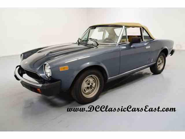 1979 Fiat Spider | 962705