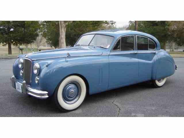 1953 JAGUAR MARK IV SEDAN   962801