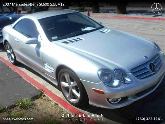 2007 Mercedes-Benz SL600 5.5L V12 | 962832
