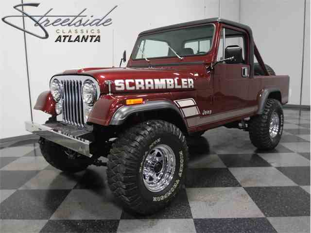1984 Jeep CJ8 Scrambler | 962837