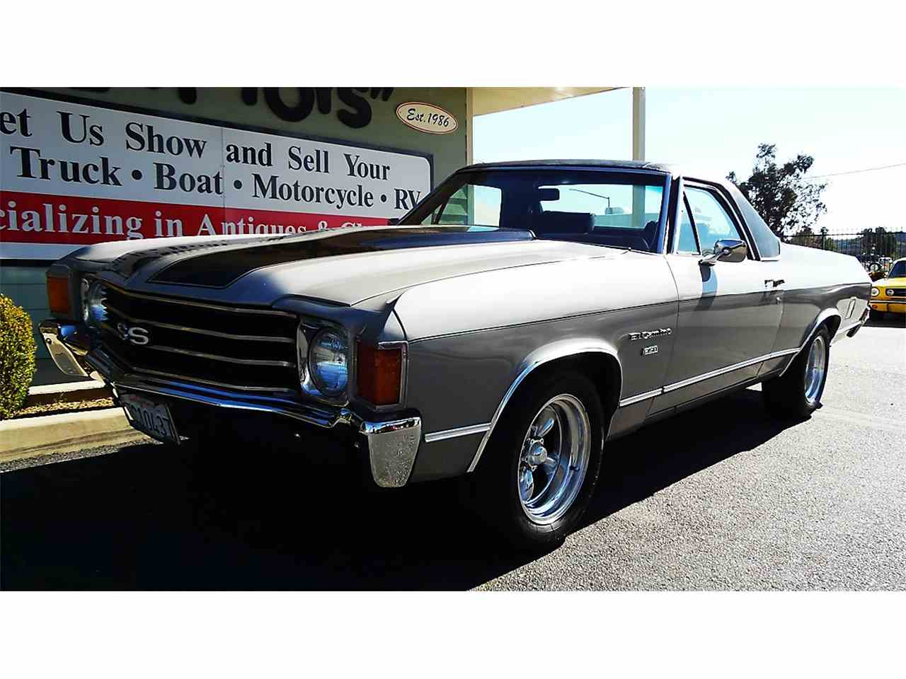 Large Picture of '72 Chevrolet El Camino located in Redlands California Offered by Play Toys Classic Cars - KMZO