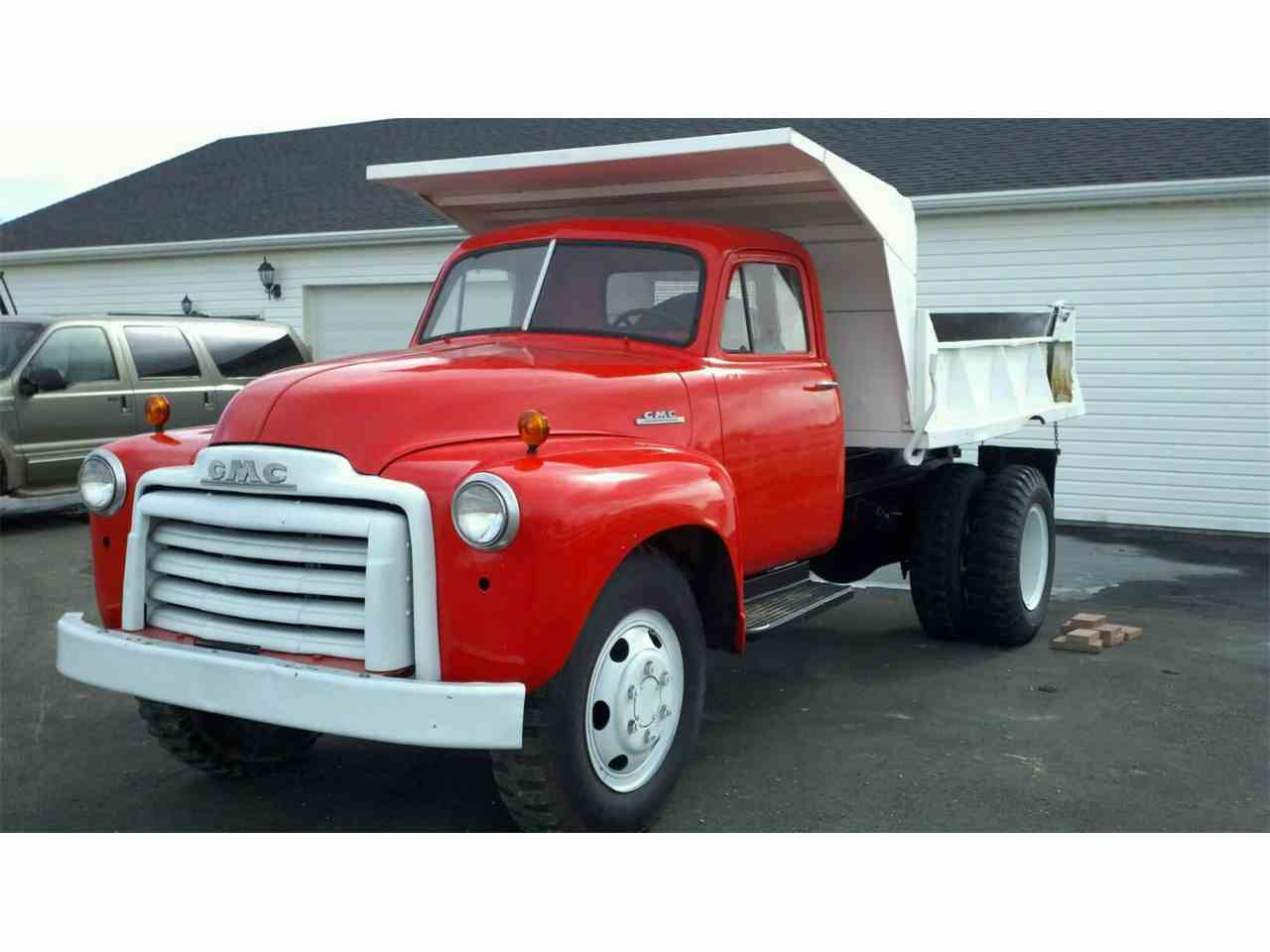 1950 gmc dump truck for sale cc 960031. Black Bedroom Furniture Sets. Home Design Ideas