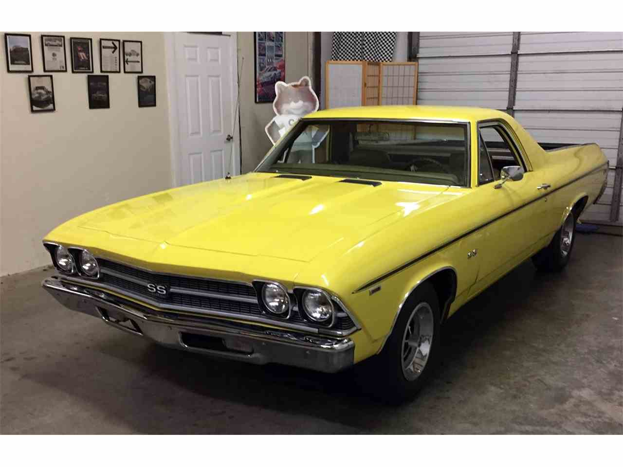 1969 chevrolet el camino ss for sale cc 963135. Black Bedroom Furniture Sets. Home Design Ideas