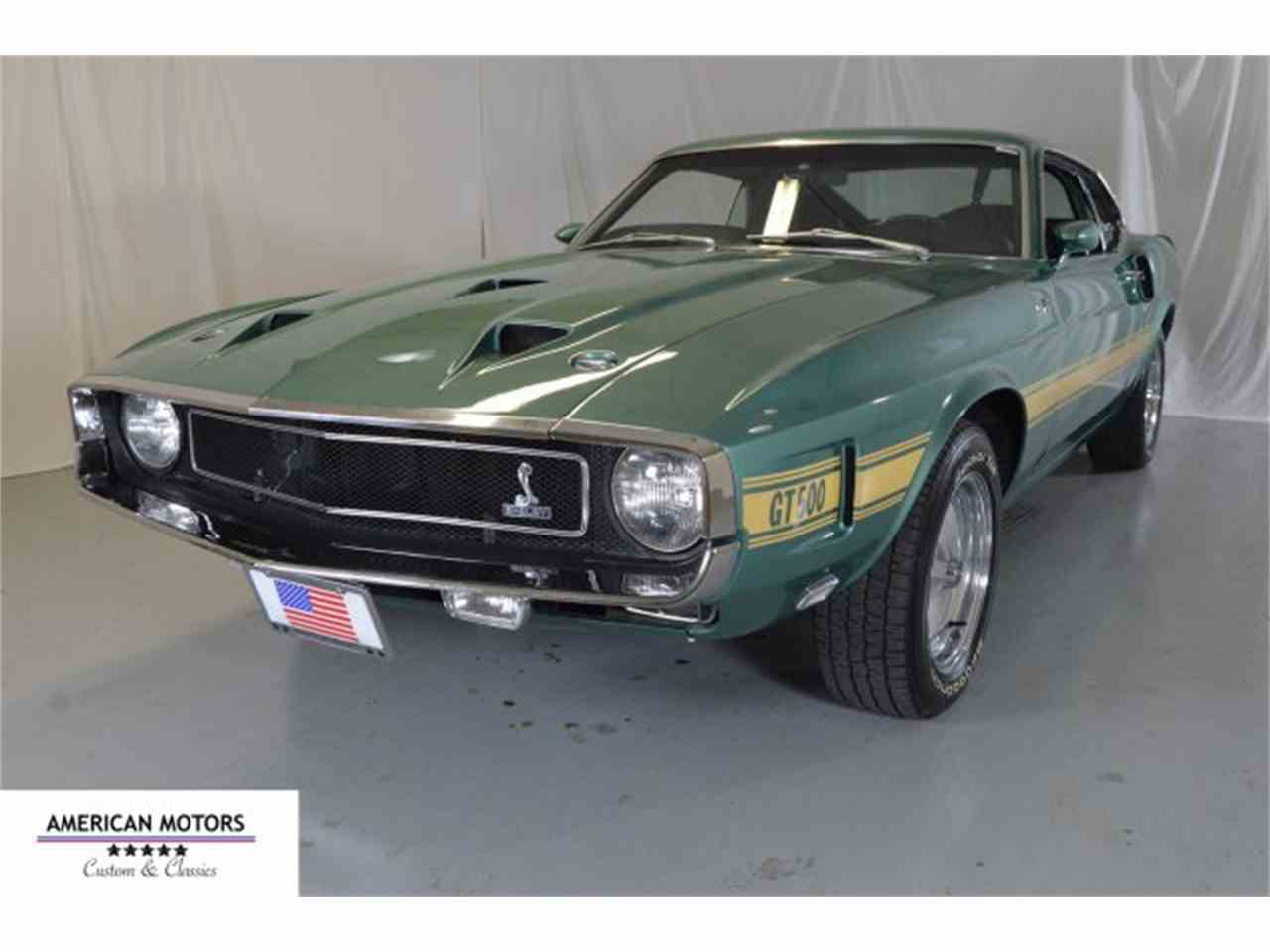 1969 Ford Shelby Gt500 Fastback For Sale Classiccars Com