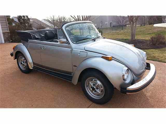 1979 Volkswagen Super Beetle Convertible   963424