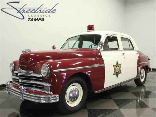 1949 Plymouth Special Deluxe Police Car | 963510