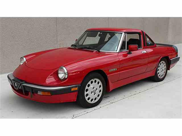 1986 Alfa Romeo Spider Quadrifoglio | 963633