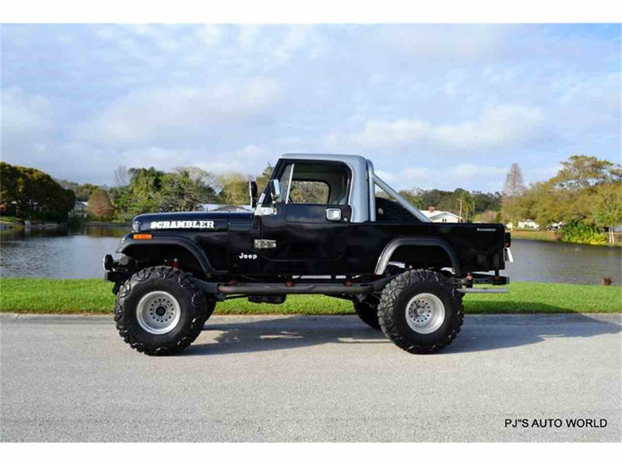 Jeep Renegade Desert Hawk 5 together with 5 Things To Know About The Jeep Grand Cherokee Altitude additionally 1982 Jeep Scrambler Sport also This Xj Jeep Cherokee Has The Worlds Coolest Trailer together with How To Be A Lady. on jeep cj fun