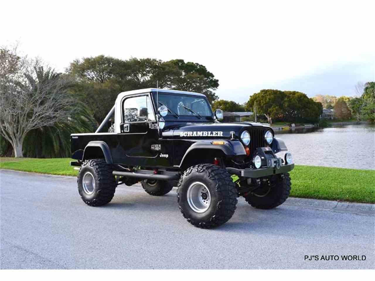 1984 jeep cj8 scrambler for sale cc 963772. Black Bedroom Furniture Sets. Home Design Ideas