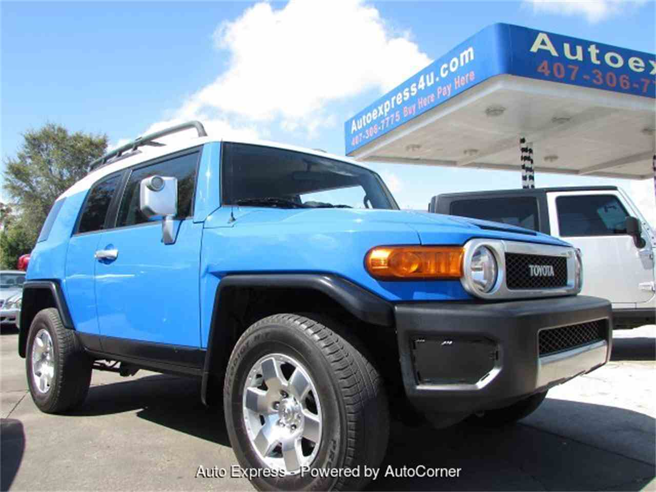 2007 toyota fj cruiser for sale cc 964037. Black Bedroom Furniture Sets. Home Design Ideas