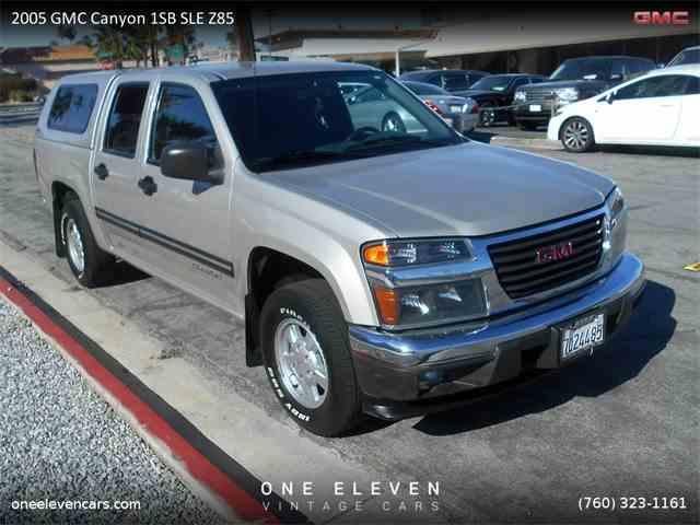 2005 GMC Canyon 1SB SLE Z85 | 964109