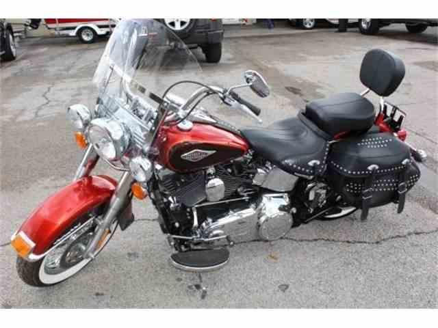 2013 Harley-Davidson FLSTC Heritage Softail Classic Motorcycle | 964222