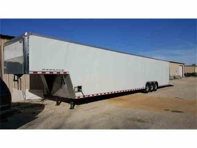 2011 Continental Cargo 48-Foot Triple Axle Gooseneck Enclosed Trailer   964243