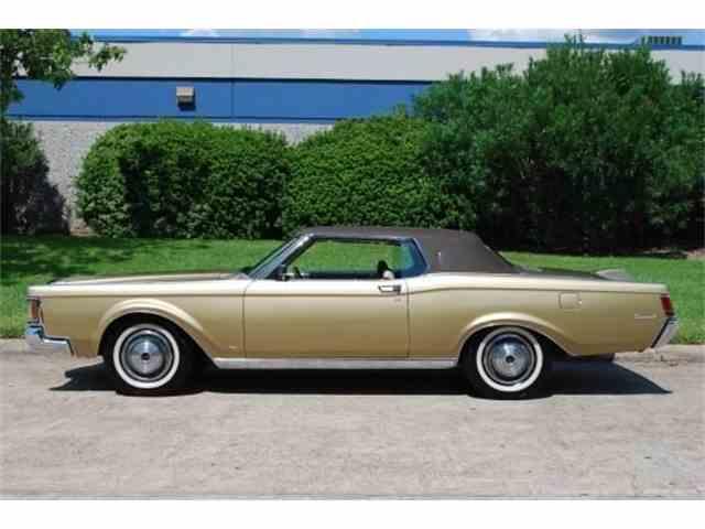 1970 Lincoln Continental Mark III   964330