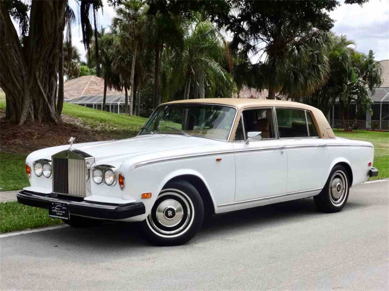 1980 rolls royce silver wraith ii for sale cc 964428. Black Bedroom Furniture Sets. Home Design Ideas