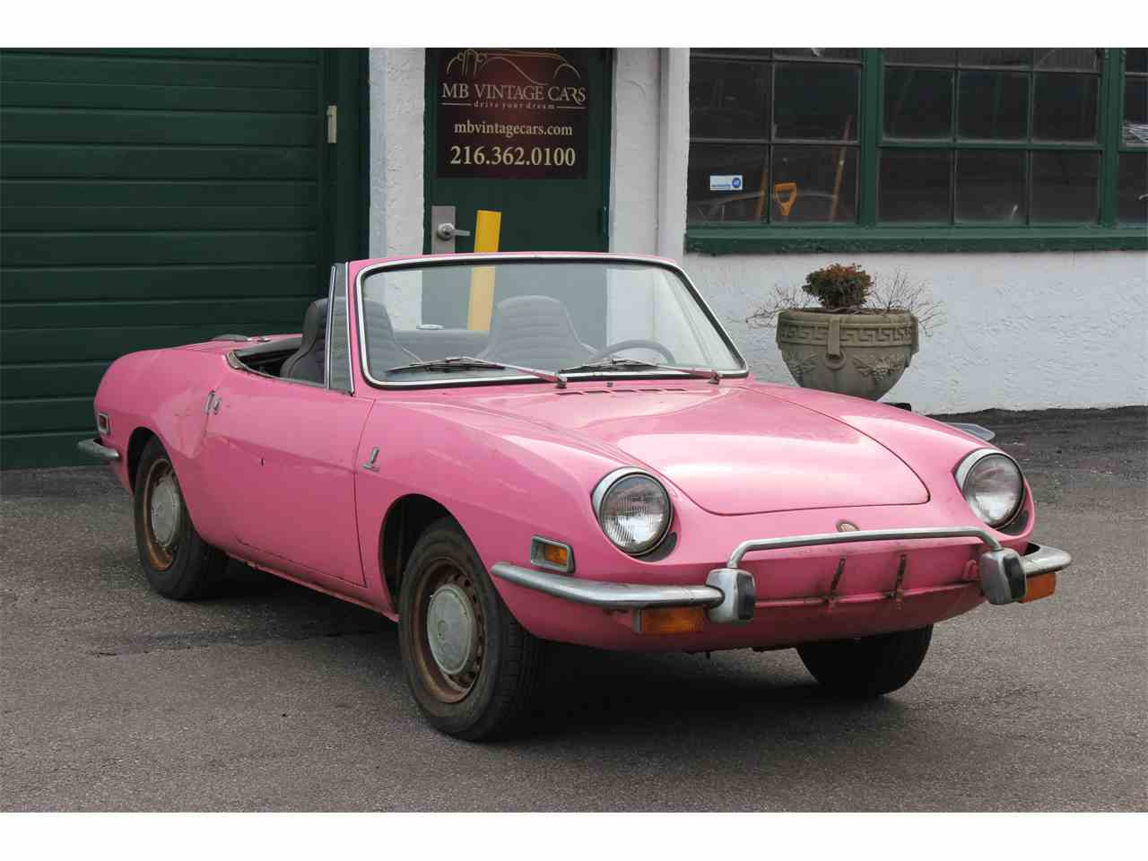 1973 Fiat 850 Spider for Sale ClassicCars