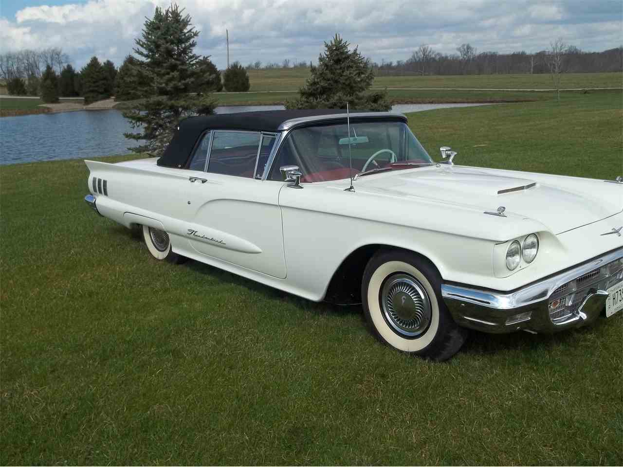 1960 ford thunderbird for sale cc 964546. Cars Review. Best American Auto & Cars Review